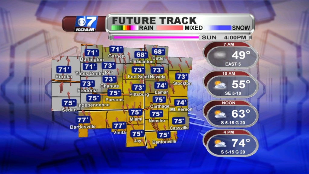 Late Saturday October 19th – Fog & t-storms to contend with for Sunday