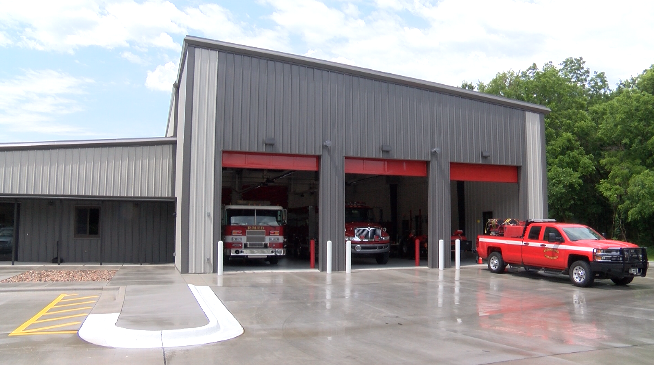 Redings Mill fire department holds grand opening for new fire station