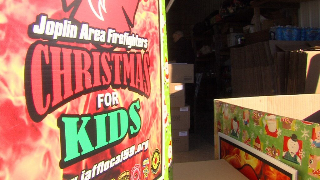 Joplin Firefighters Christmas for kids campaign overcomes challenging year