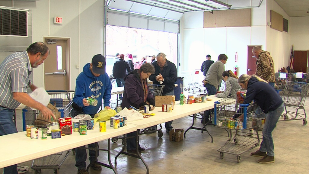 Food Basket Brigade community collection day gathers volunteers