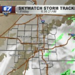 Rain persists through Friday along and south of I-44