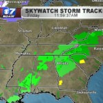 Heavy rains, thunderstorms, work from Southeast to Mid-Atlantic