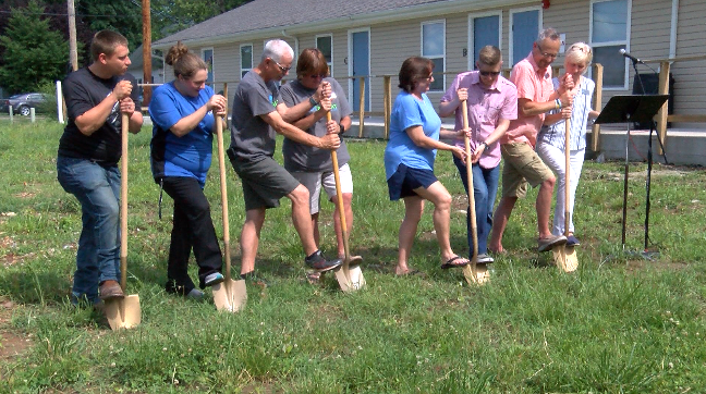 God's Resort breaks ground on two new apartment buildings for transitional housing