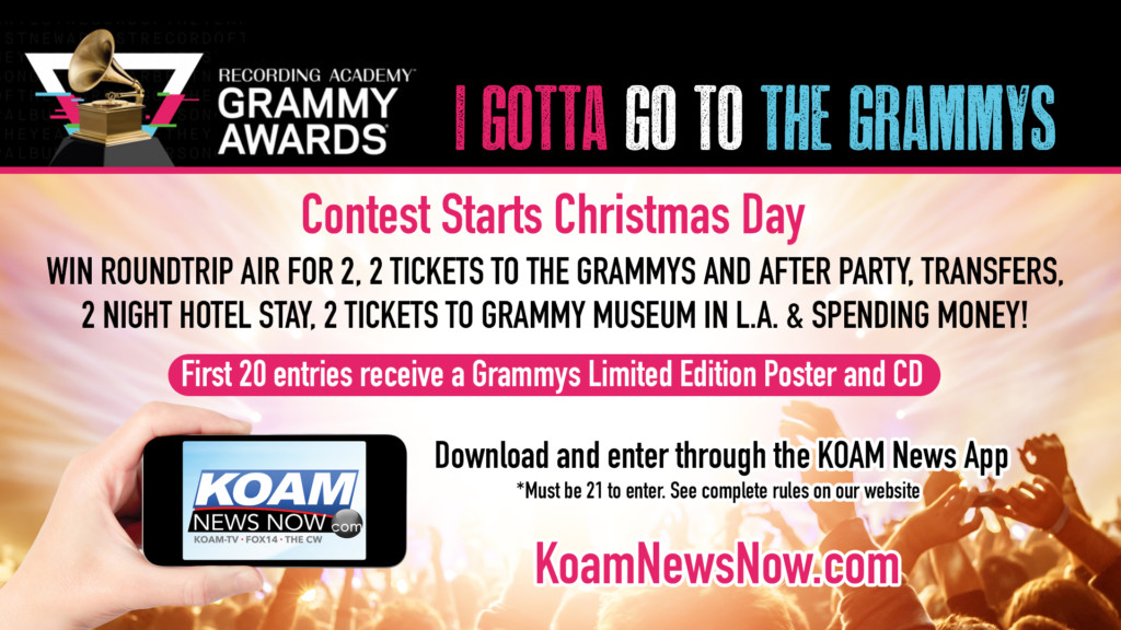 """I Gotta Go to the Grammys"" KOAM News App contest"