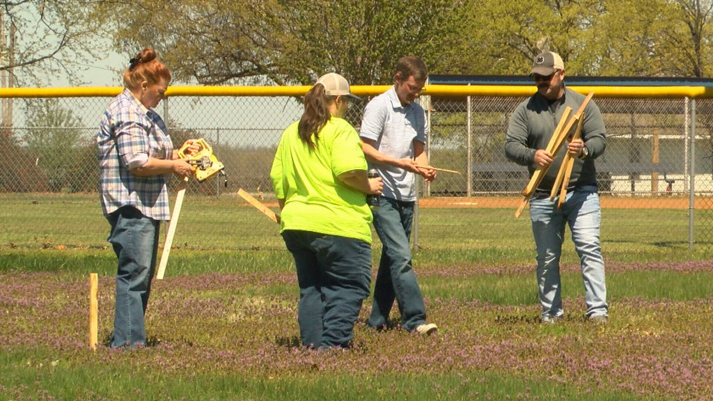 Volunteers come together to grow community garden