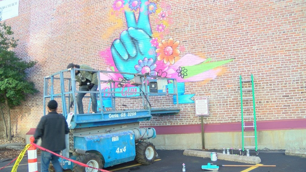 New mural in downtown Joplin