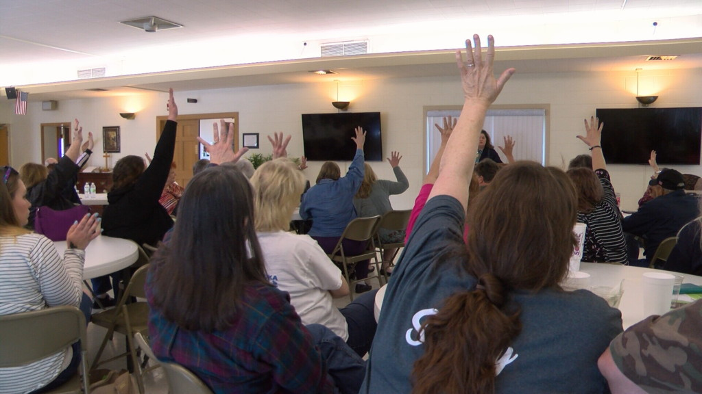 Supporters rally to raise funds to buy back Camp Mintahama