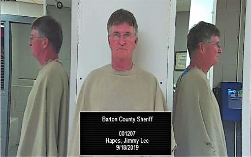 Barton County Sheriff's Office employee arrested