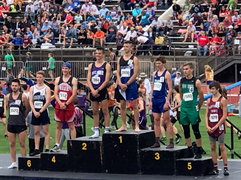 Yates Center's Splechter wins 3200m state title