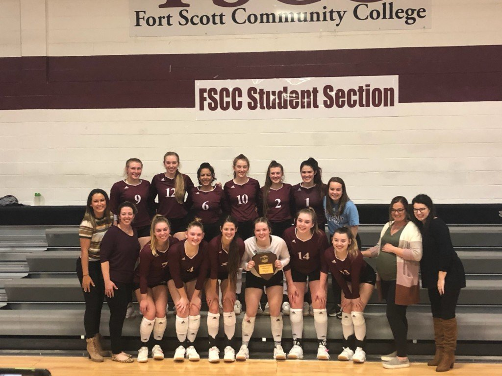 Fort Scott CC volleyball advances to nationals