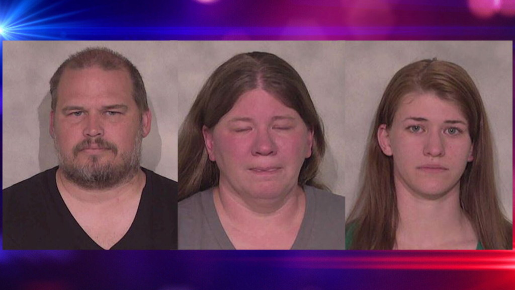 Deputies say 9-year-old was starved and handcuffed, suspects plead not guilty