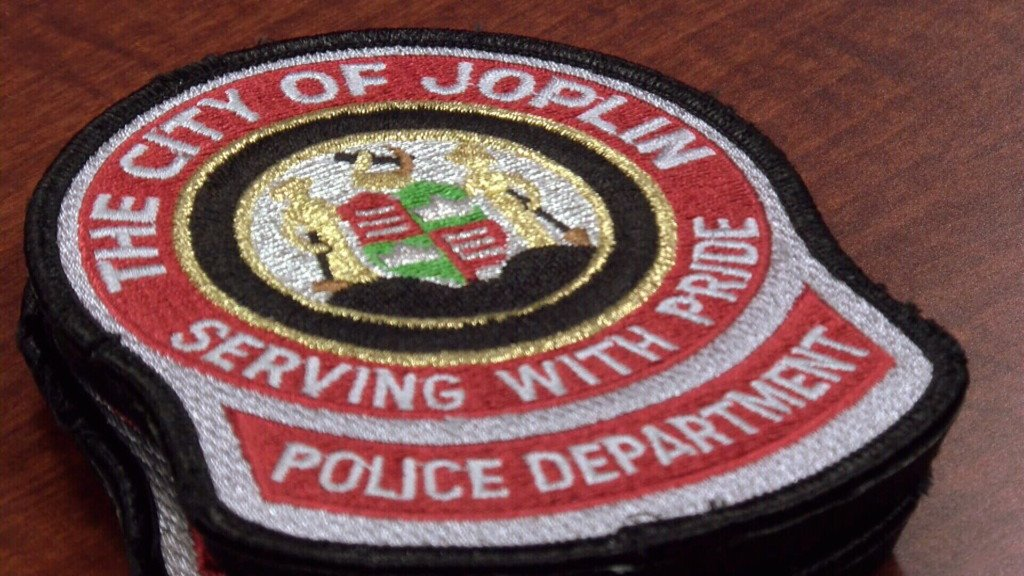 Joplin Police badge patch
