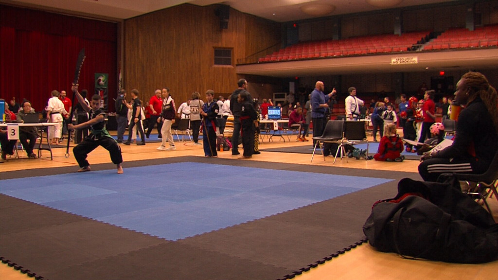 Karate Tournament draws competitors of all ages