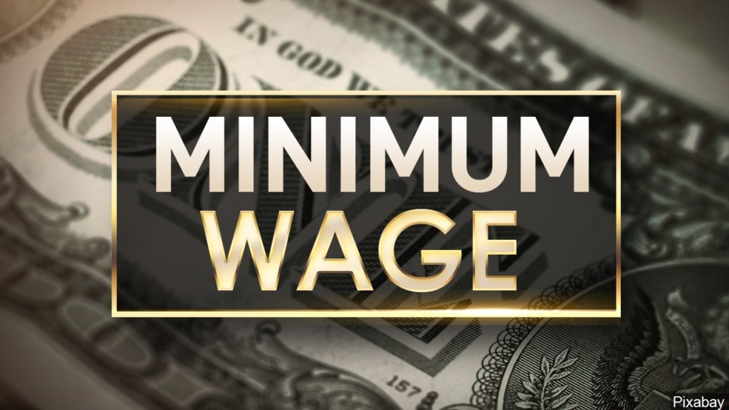 Lawmakers unveil bill to gradually raise the minimum wage to $15