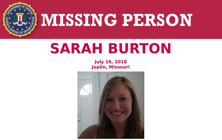 FBI offers reward in ongoing investigation into Sarah Burton's disappearance