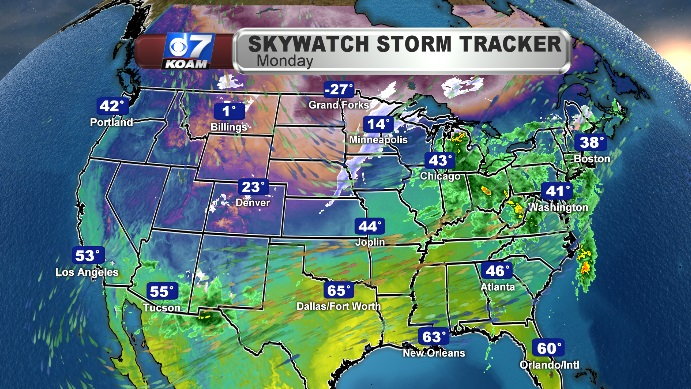 Snow And Hazardous Travel Expected From The Rockies To The Northern Plains And Upper Midwest