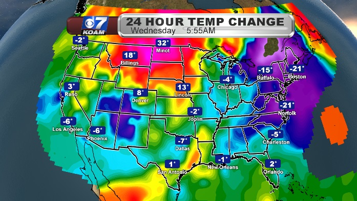 2019 cold front finally hits east coast