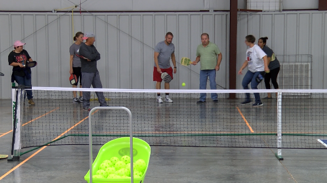 Pickleball demonstration held for developmentally disabled and special needs players