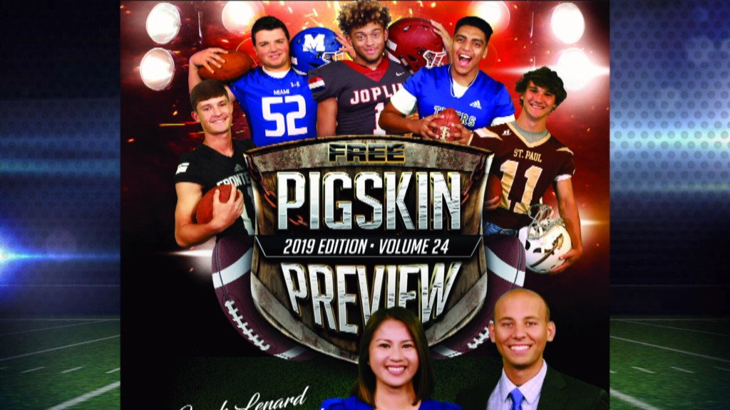 2019 Pigskin Preview pickup locations