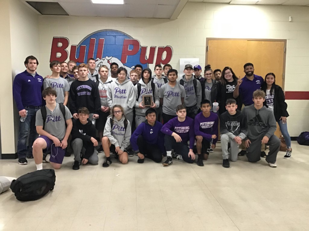 Pittsburg wrestling finishes 3rd at Kan-Okla Classic in Caney