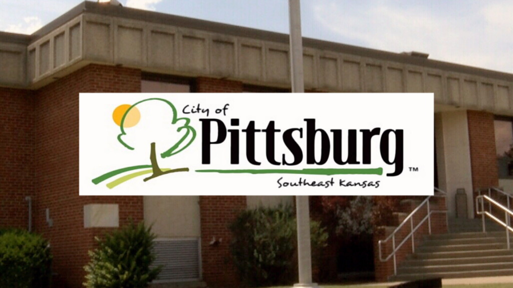 City of Pittsburg logo over town hall