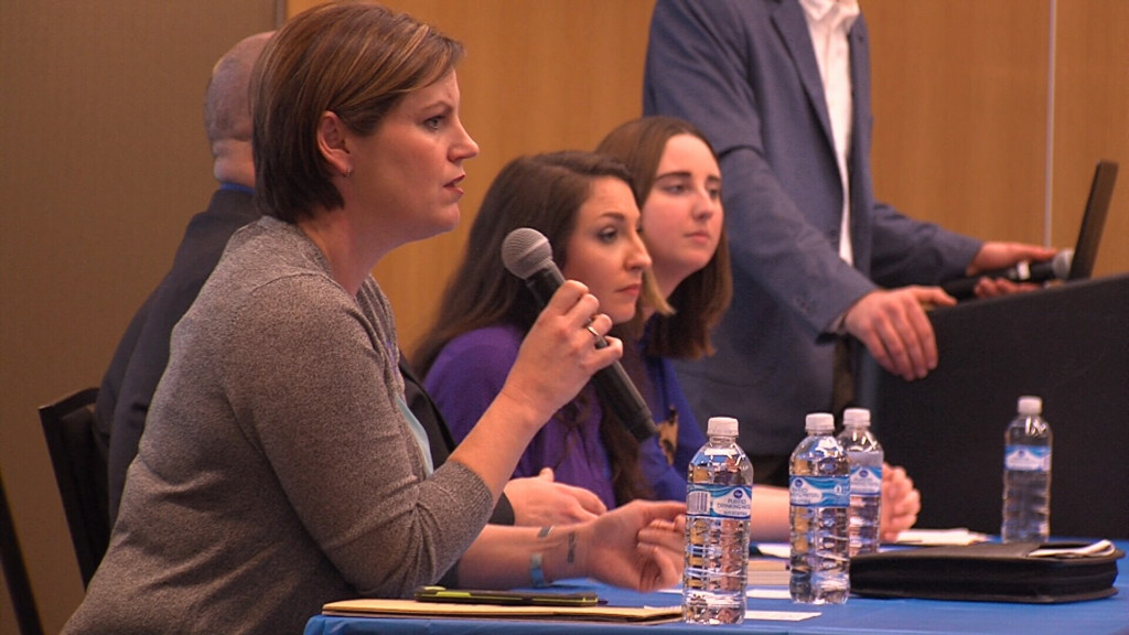 PSU students hold forum on human trafficking in the four states.