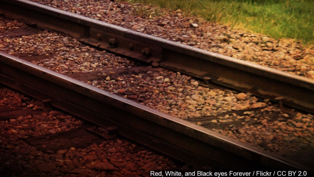 pedestrian hit by train in neosho