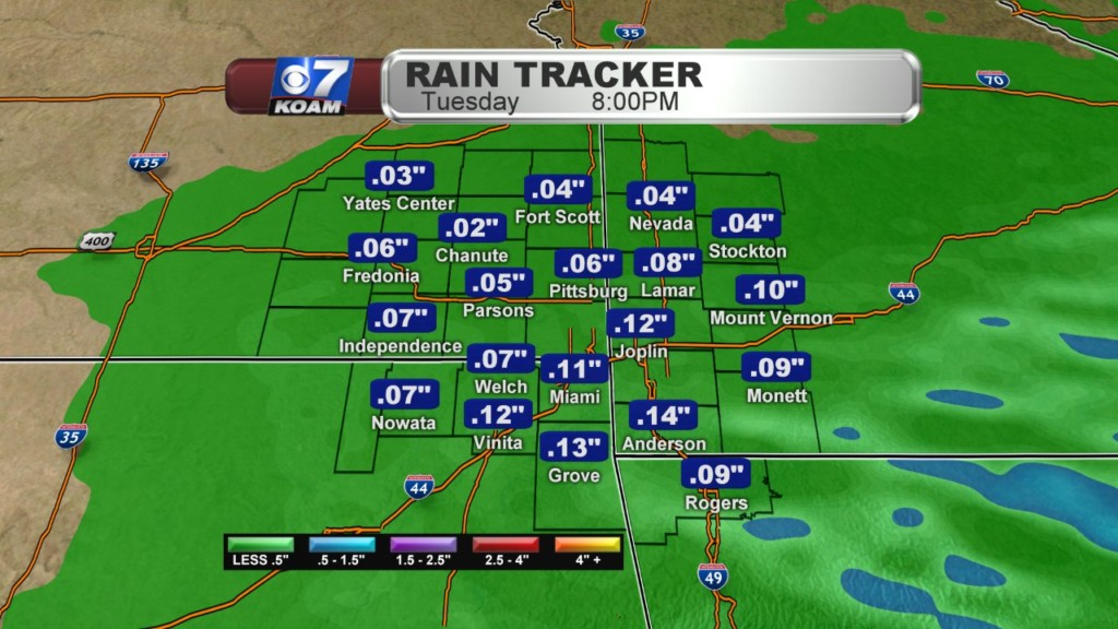 Monday Night Blog:  More rain on Tuesday, plus a look down the road.