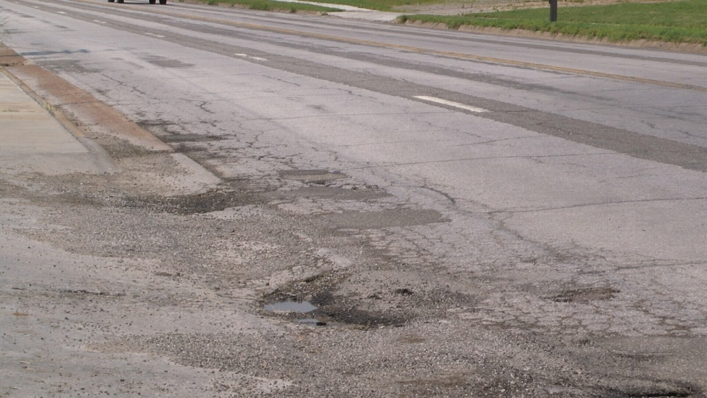 Kansas roadways take a hit from floodwaters