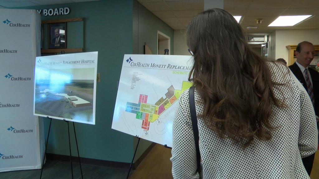 CoxHealth announces plans to build new hospital