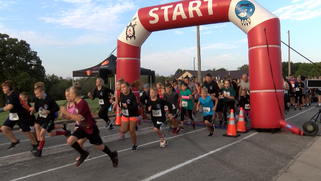 Wyandotte Nation holds annual 'Scarecrow Run' for Domestic Violence Awareness Month