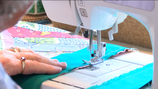 The Sewing to Sow Ministry turns sewing as a hobby into sewing for a purpose