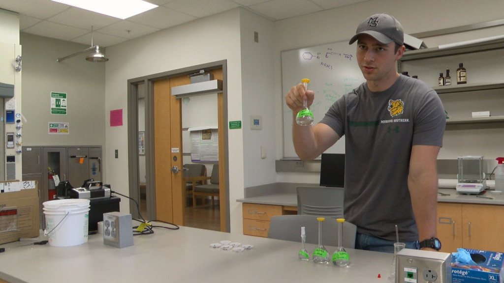 MSSU student uses snails to study local mining areas