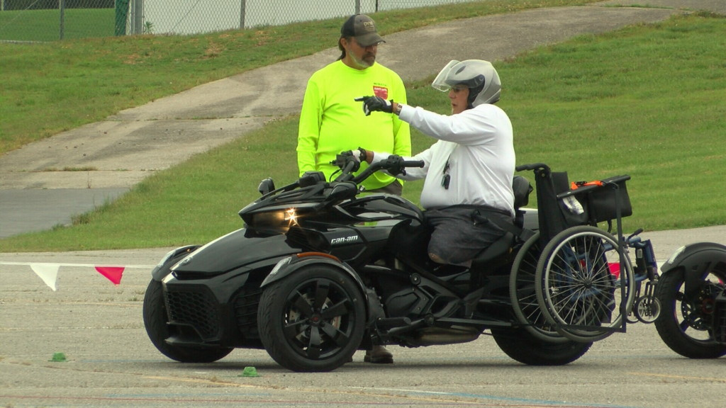 Motorcycle safety course gives disabled, elderly riders confidence to cruise