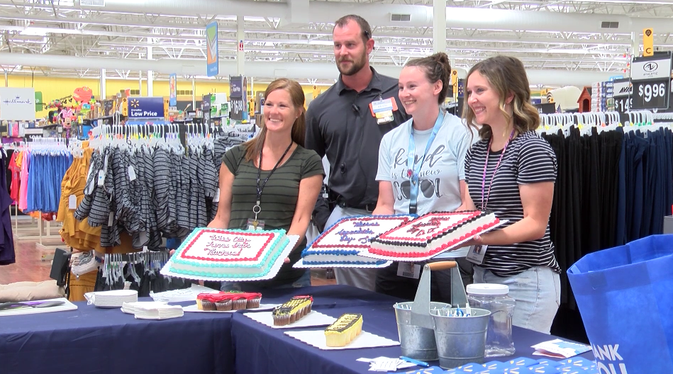 Walmart holds teacher appreciation event