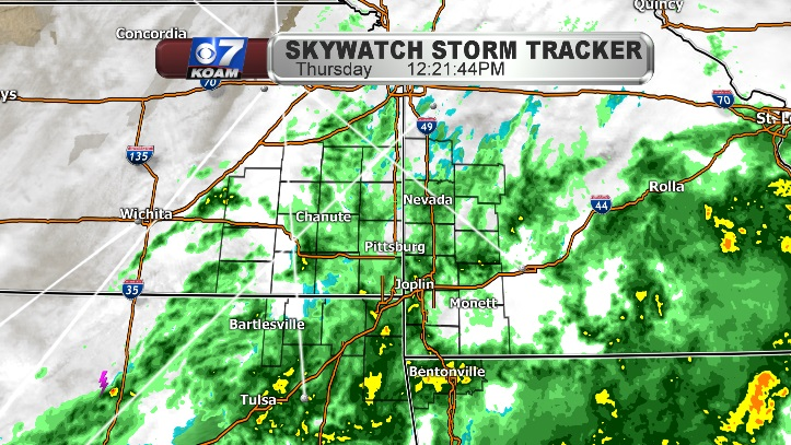 Rain rolls on through the afternoon and evening