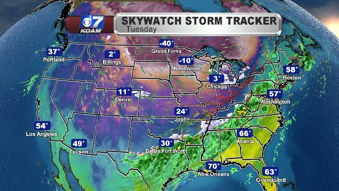 Unsettled in the East; Bitter Cold Over the Upper Midwest