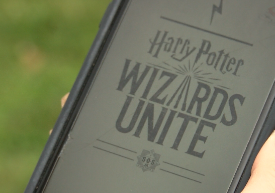 Calling Harry Potter fans! A new augmented reality game has been released