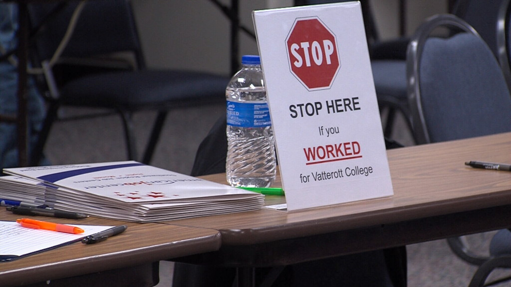 Local organizations and trade schools help former students, staff of Vatterott College