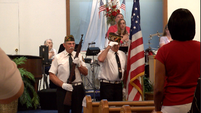 Parsons First Assembly of God honors veterans at special service