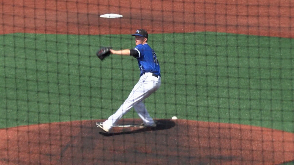 Crowder pitcher Carver drafted by Rangers