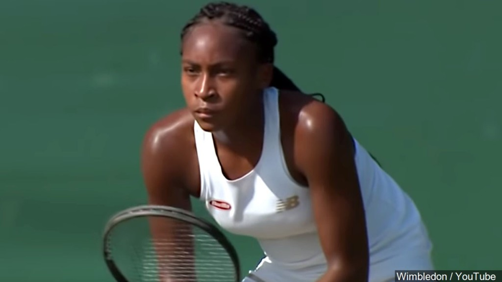 15-year-old Gauff advances to round of 16 at Wimbledon