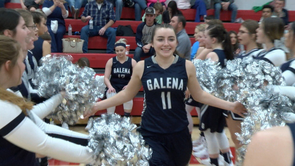 Galena girls top Baxter Springs