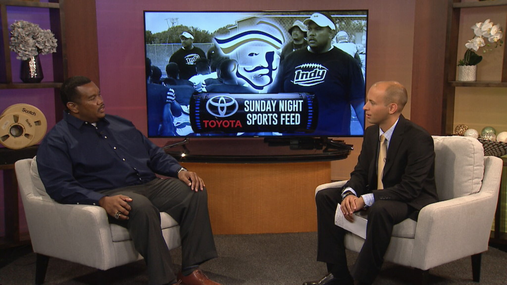 Full interview: Independence head coach Kiyoshi Harris