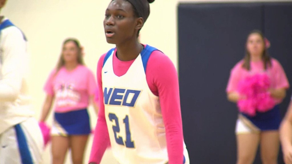 Mununga (NEO) named NJCAA DI Women's Player of the Week