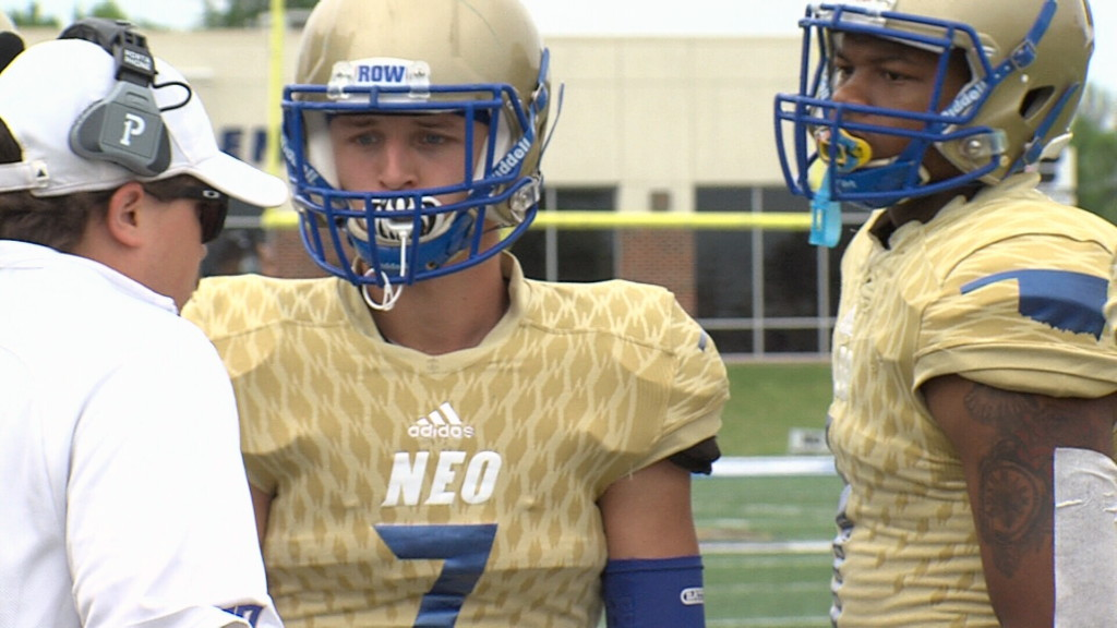 NEO football holds annual spring game
