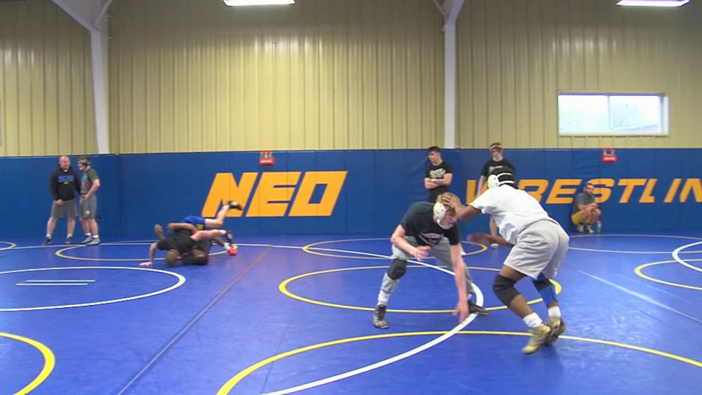 NEO wrestling climbs to #5 in national rankings
