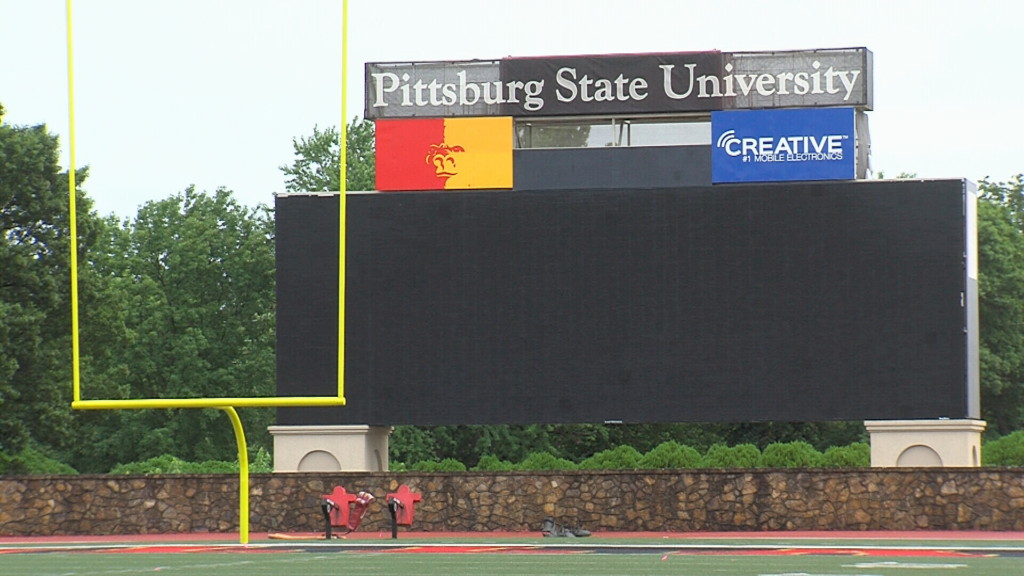 New video board coming to Pitt State's Carnie Smith Stadium
