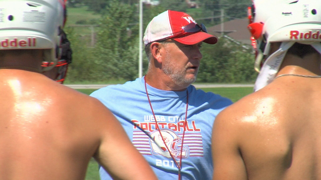 Webb City kicks off football practice