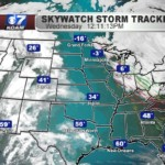 High Pressure runs from Canada to Gulf of Mexico